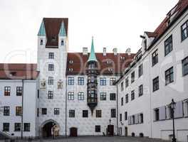 Old Court in Munich, Germany. Former residence of Louis IV
