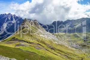 Fuente De in the in mountains of Picos de Europa, Cantabria, Spain