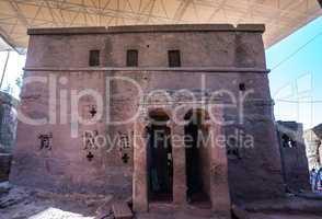Bet Maryam Church, St. Mary Church in Lalibela, Ethiopia