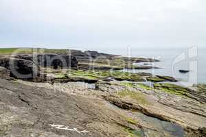 Hook Head at the tip of the Hook Peninsula in County Wexford, Ireland