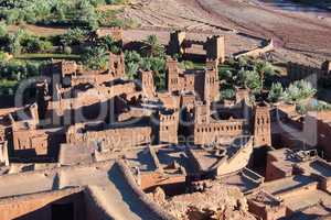 Ait Ben Haddou near ouarzazate in Morocco.