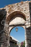 Medieval arch in Taormina, Sicily, Italy