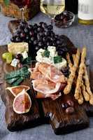 Cheesy - meat dish Antipasto