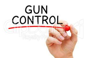 Gun Control And Regulation Concept