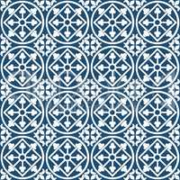 Circular portuguese pattern