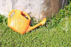 Watering Can On Grass