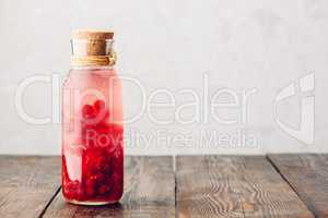 Red currant infused water