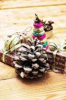 postcard with Christmas