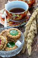 tea ceremony and sweets