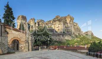 Ancient Byzantine church in Meteora, Greece