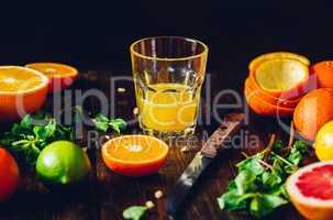 Fresh Citrus Juice.