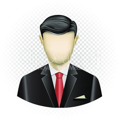 human template businessman