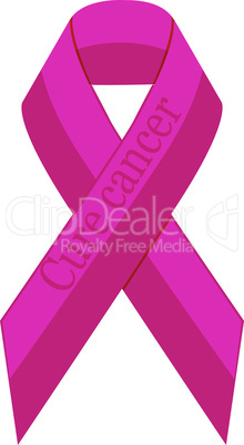 Stop breast cancer ribbon awareness  vector illustration