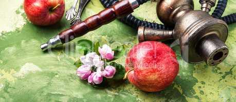 Arabian shisha with apple tobacco