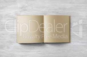 Kraft paper book