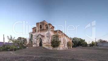 Abandoned church in Limanskoye, Ukraine