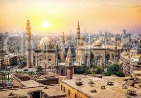 Mosque Sultan in Cairo
