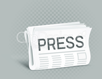press newspaper icon