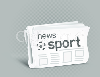sport newspaper icon