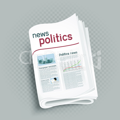 politics newspaper press icon