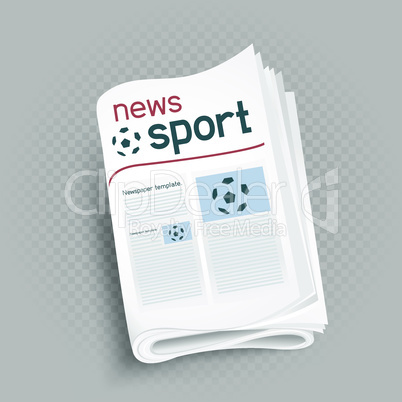 sport newspaper press icon