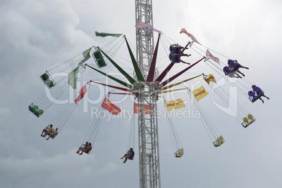 Amusement Park on County Fair