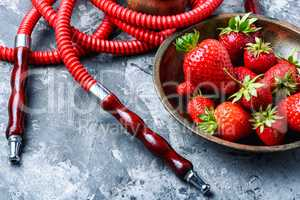Fruit smoking hookah
