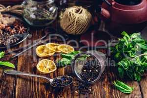 Tea with Mint and Lemon