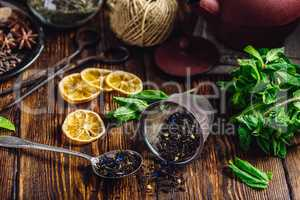 Dry Tea with Mint and Lemon