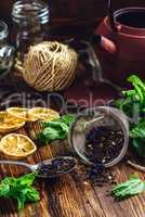 Tea in Teapot Strainer