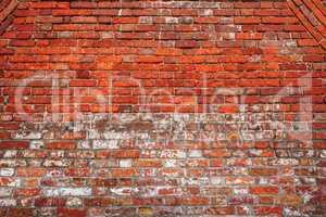 Chipped Brick Wall.