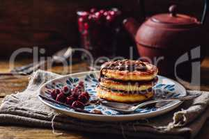 Russian Quark Pancakes