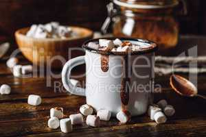 Cocoa Mug with Marshmallows.