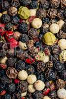 Peppercorn Mix Background.