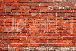 Chipped Brick Wall.