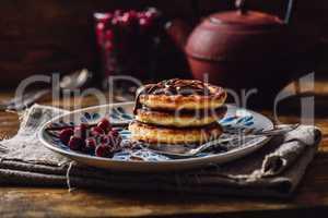 Breakfast with Quark Pancakes