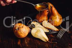 Golden Pears and Spoonful of Honey.