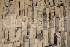 Background image, basalt rocks