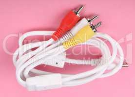 Audio Video Cord Plug-and-Sockets