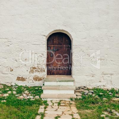 Old, Brown, Wooden Door.