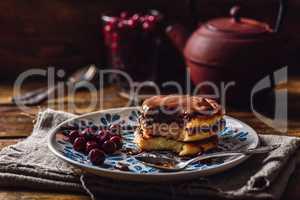 Quark Pancakes with Cherry