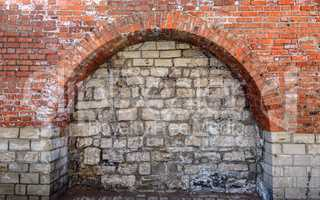Bricked Up Doorway Arch.