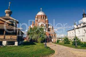 Church of Theotokos Joy in City-Island Sviyazhsk.