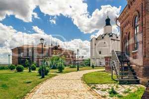 John-Baptist Monastery Area on Sviyazhsk Island.