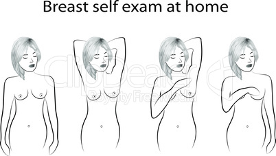 Breast cancer self examine
