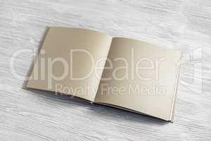 Craft paper booklet