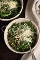 Salad Arugula and Parmesan