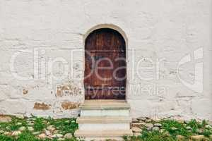 Old, Brown, Wooden Door.