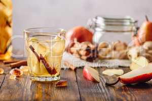 Water Infused with Pear, Cinnamon, Ginger and.