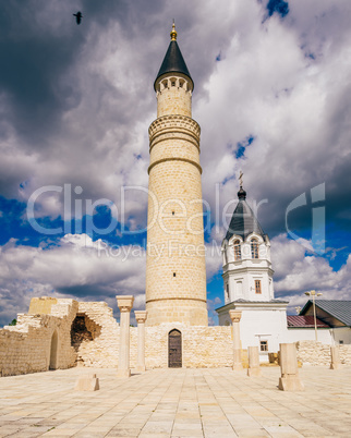 Ruins of Cathedral Mosque and Dormition Church.